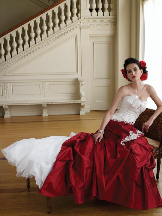 Krááásne červeno-biele šaty - Obrázok č. 80
