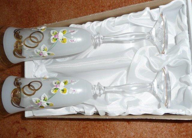 Janča a Jirka - přípravy na červenec 2012 - nádherné skleničky od aalous,děkujeme!