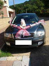 šerpa na auto nevěsty od hvezdicka07