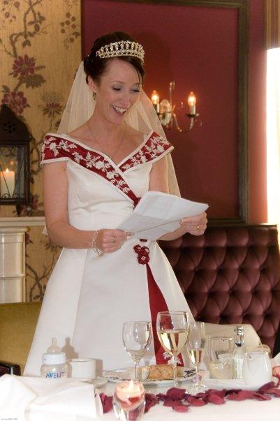 Janča a Jirka - přípravy na červenec 2012 - kamarádova manželka měla naprosto úžasný šaty