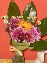 kytice k výročí zasnoubení (30.4.2011)