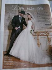 moje vysněné šaty v příloze magazínu Ona dnes