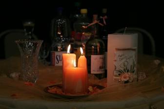 dostali sme takú krásnu sviečočku... tú vpravo