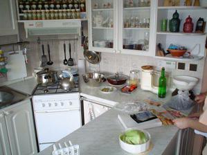 kuchyň mojí tchyně II