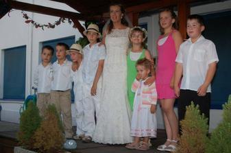 Naši najmenší svadobní hostia podivuhodne vydržali do rána