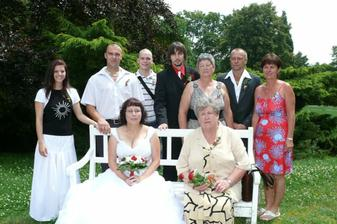 rodinka nevěsty
