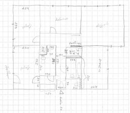 Nemáte někdo tento byt s dvěmi bytovými jádry, ideálně po rekonstrukci?