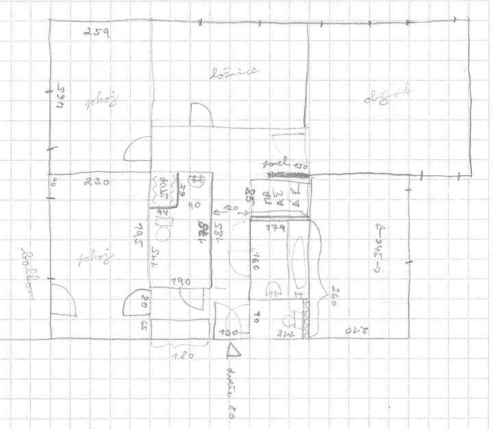 Dvougenerační panelákový byt = dvě jádra - Nemáte někdo tento byt s dvěmi bytovými jádry, ideálně po rekonstrukci?