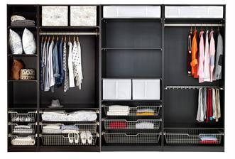 Koukám na na nabídku skříní IKEA. V chodbě máme prostor 3,6m široký kde je plánovaná šatní a úložní skříň. Původně vestavná, ale když tak koukám na ceny IKEA, vyšlo by nás to lehce přes 20tis. a to vestavná na zakázku bude o dost dražší...