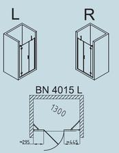 BN4015 levá - 15700Kč, průchod 560mm