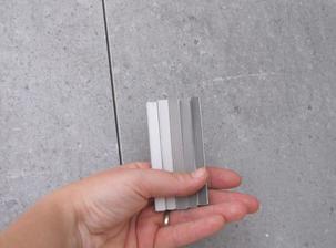 obklad Cemento a výběr spárovačky na WC