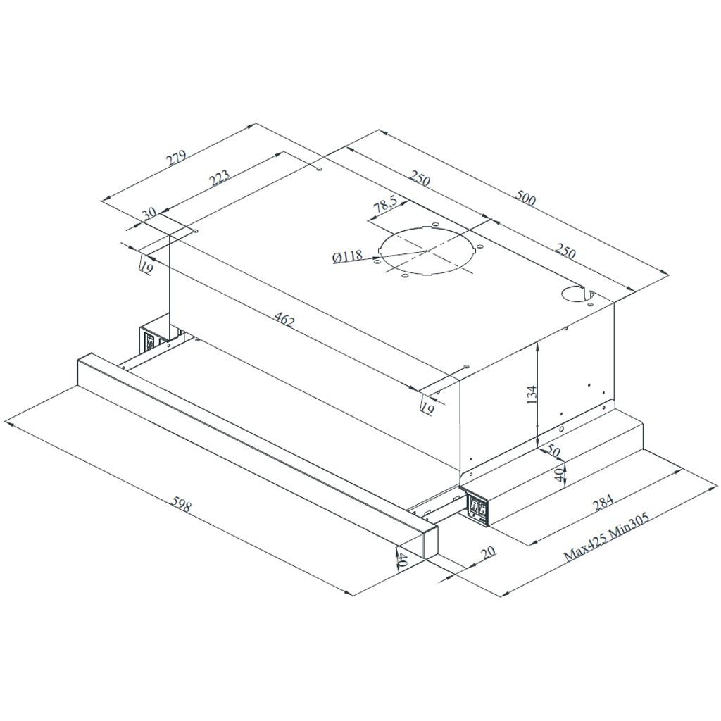 Bydlení - zařizování - PHILCO - rozměry