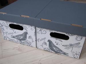 2ks krabice 20x30cm za 39Kč z Baumaxu