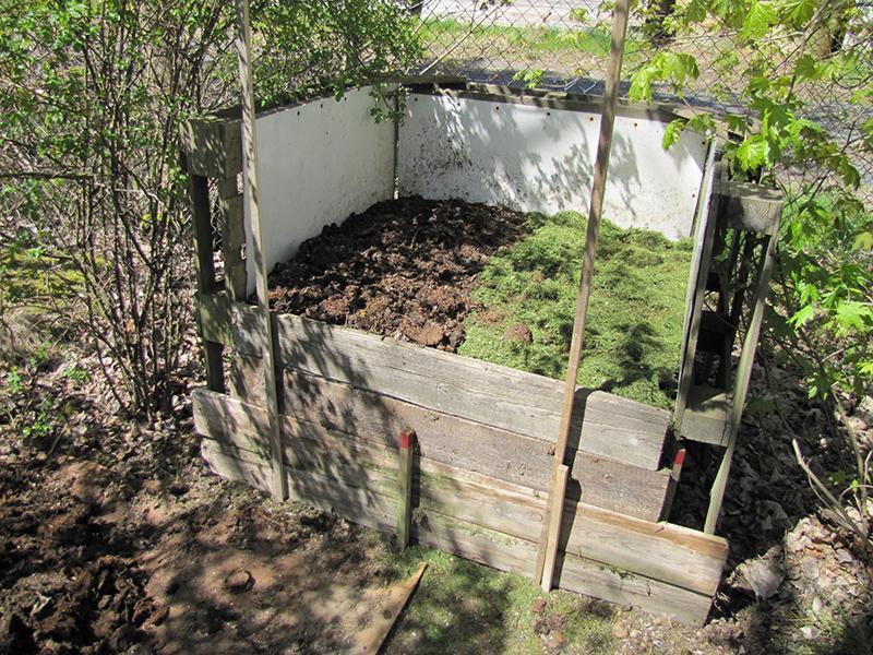 Zahrada - Kompost
