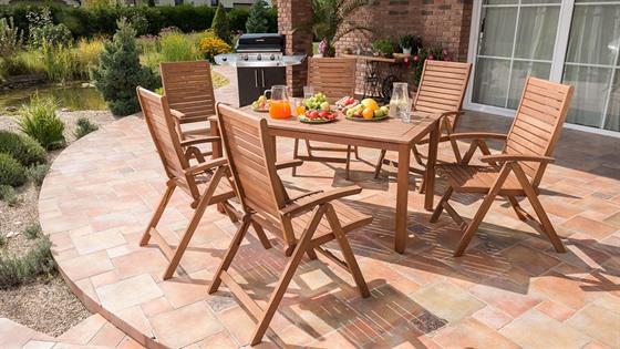 Zahrada - Máte někdo nábytek Orlando z Mounfieldu?