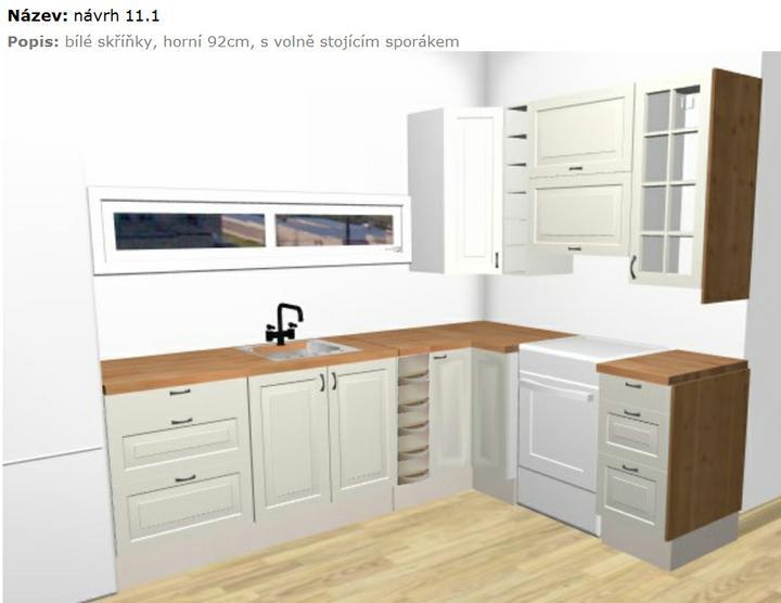 Bydlení - zařizování - světlá varianta kuchyně