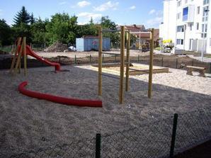 ...budoucí dětské hřiště