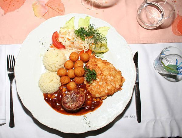 Lusikka - hlavné jedlo