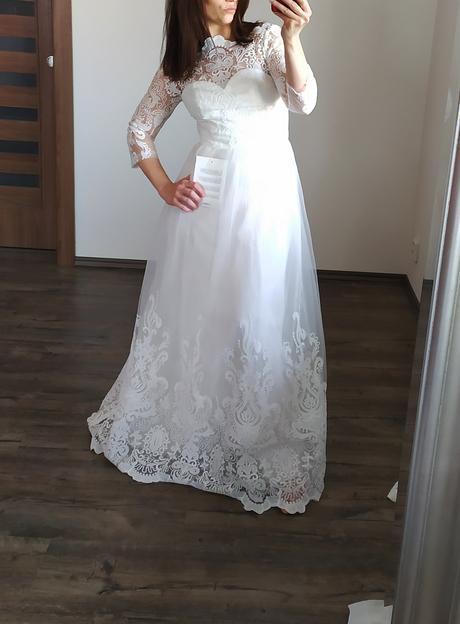Svatební šaty Chci Chi London 36 - Obrázek č. 1