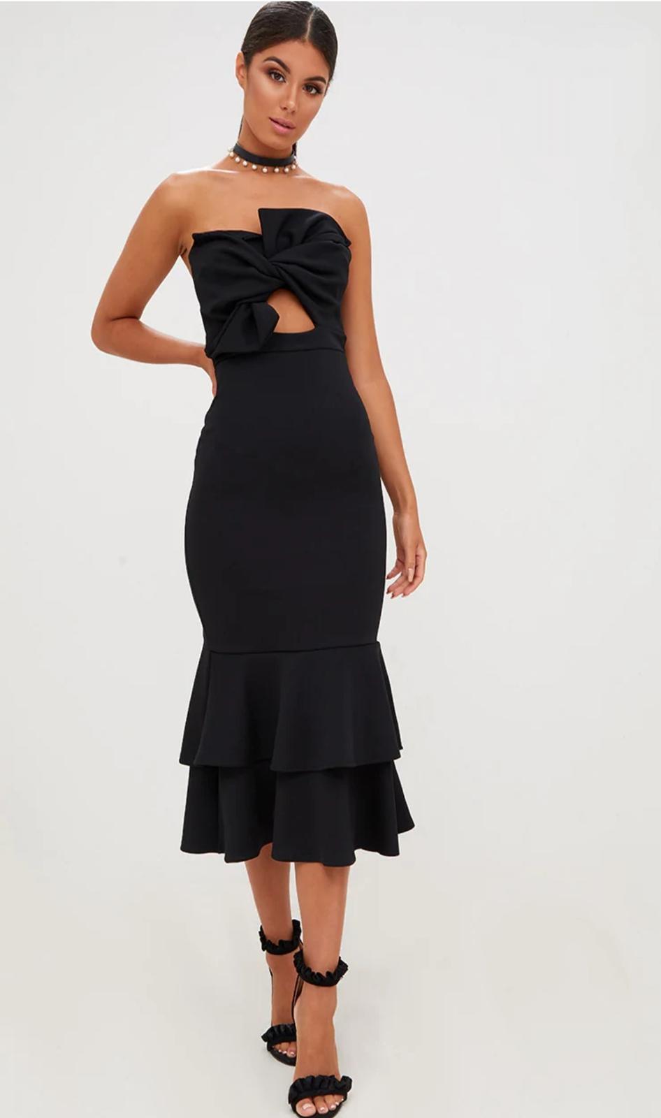 Společenské šaty S/M - Obrázek č. 1