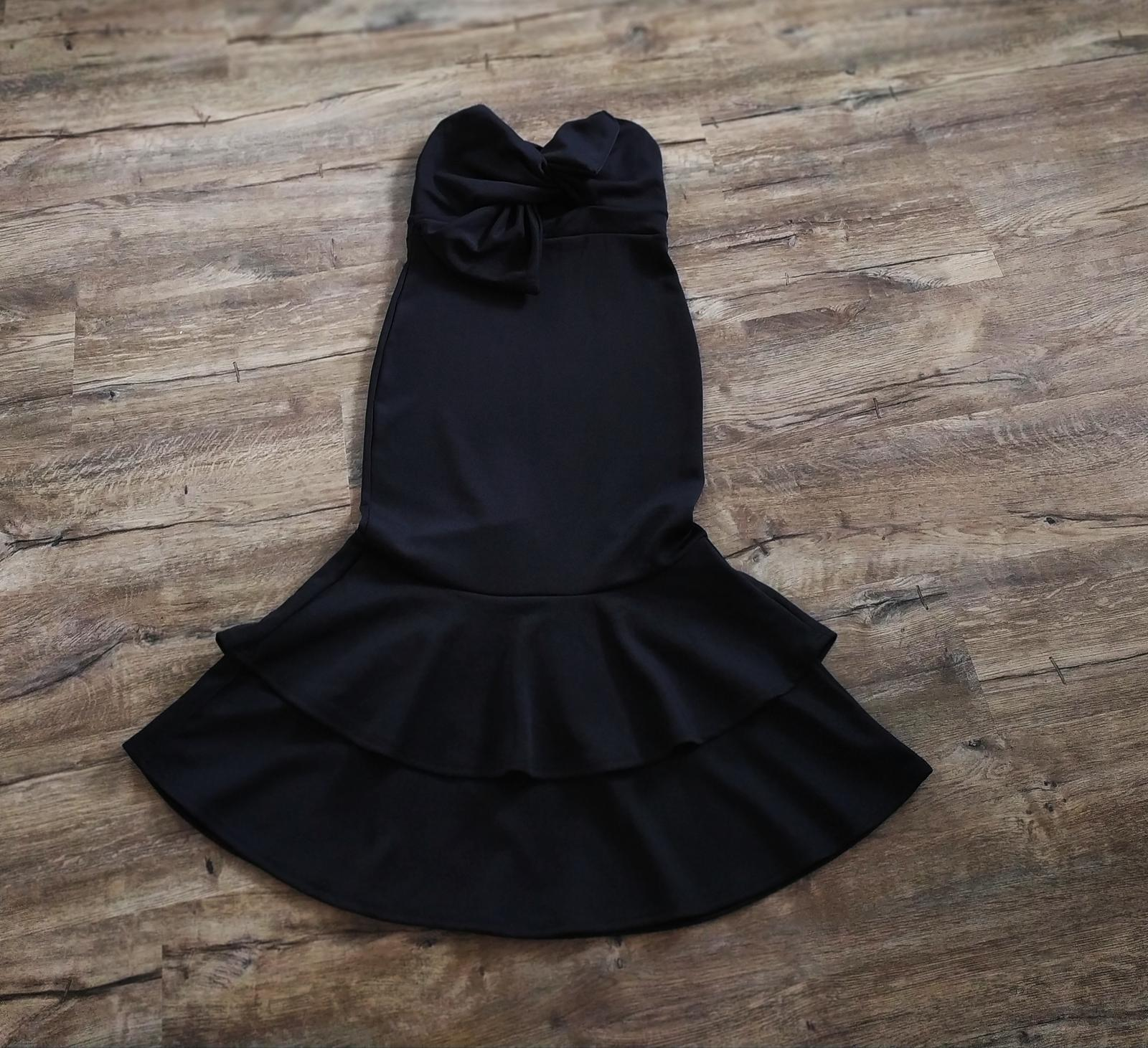 Společenské šaty S/M - Obrázek č. 3