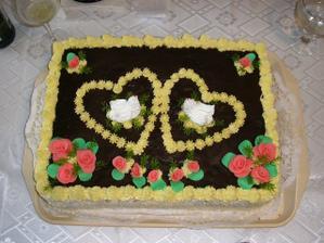 torta z oficialnych zasnub - 22.7.2007