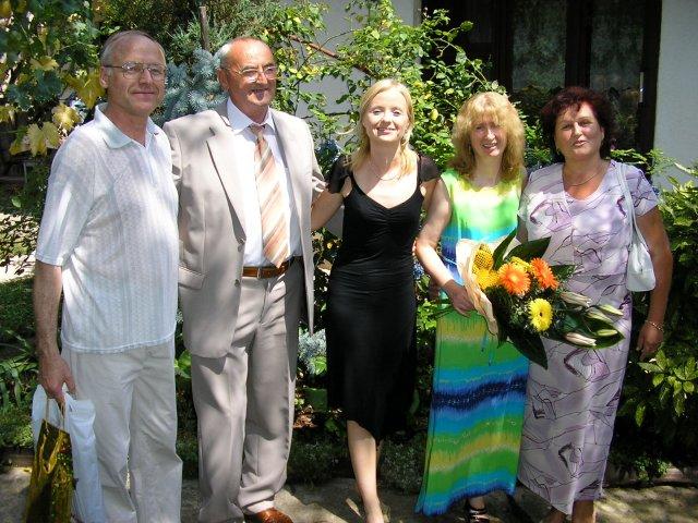 Janka a Petko - stastni rodicia:)