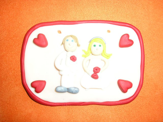 Janka a Petko - tabuľka, ešte jej nájdeme miesto, ale je nádherná- dakujeme Lusa