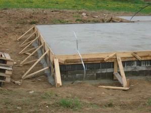betonování desky