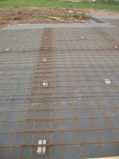 izolace + železné sítě do betonu