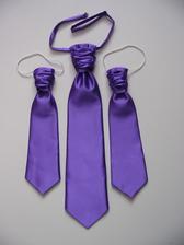 kravatky pre mojich chlapov už ušité :)