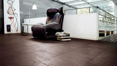 Nádherná podlaha, Celenio od HARO, vzor kůže