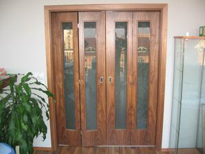 skládací dveře - alternativa posuvných dveří...