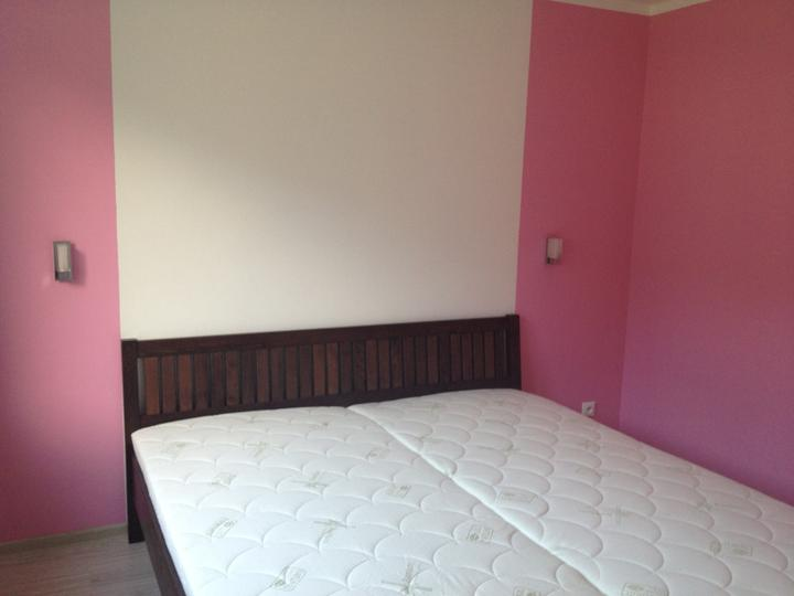 Zaciname - nova postel uz namieste