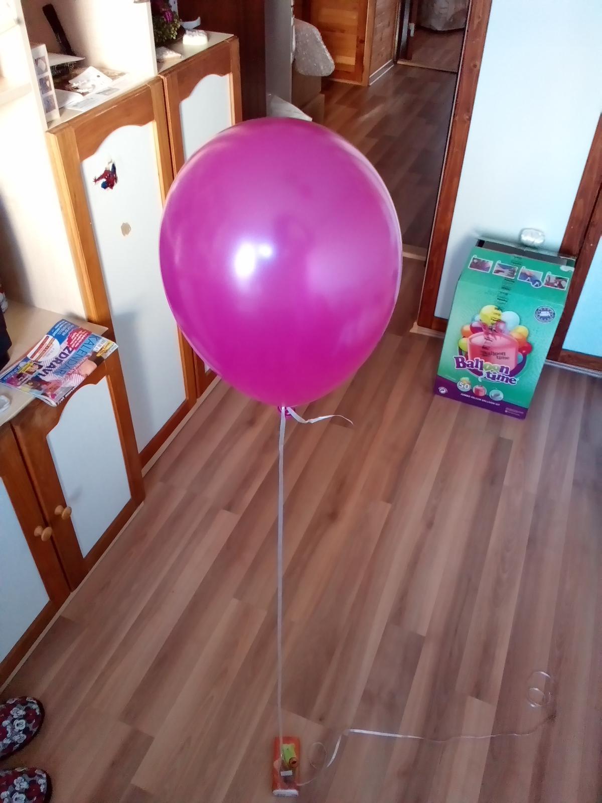 Dnes nám prišiel balíček a určite vám tu heliovu bombu odporúčam :-) jeden na ukazku - Obrázok č. 1