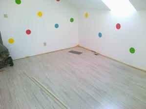 podlaha na podkrovi :)