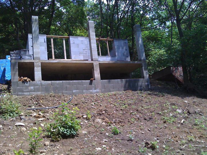Stavba chata - Murujeme