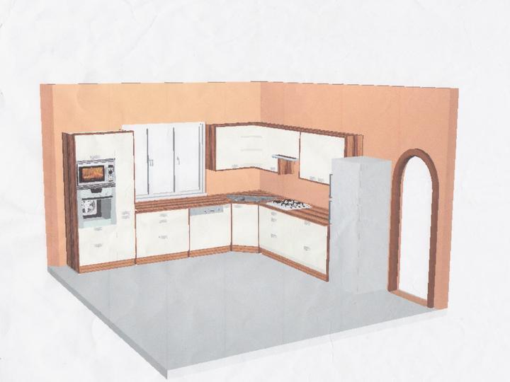 Kuchyňa - Variant číslo 3