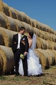 Svadobné šaty  (38-42) , 38