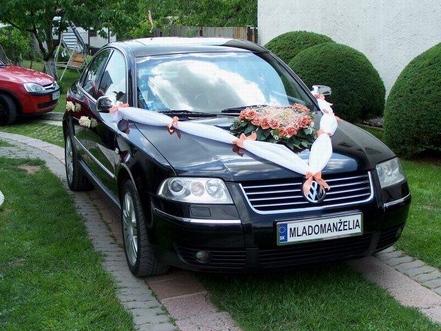 Vyzdoby svadobných  áut - Obrázok č. 43