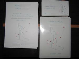 Oznámenia, pozvánky a etikety na výslužkové vínko