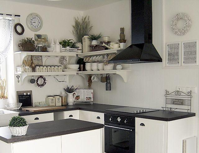 Splněný sen ... domeček - moje predstava kuchyne ...