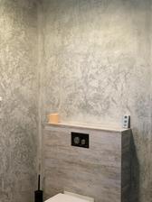Finalni podoba betonove sterky v dolni koupelni - vcera dokonceno :) jupiii