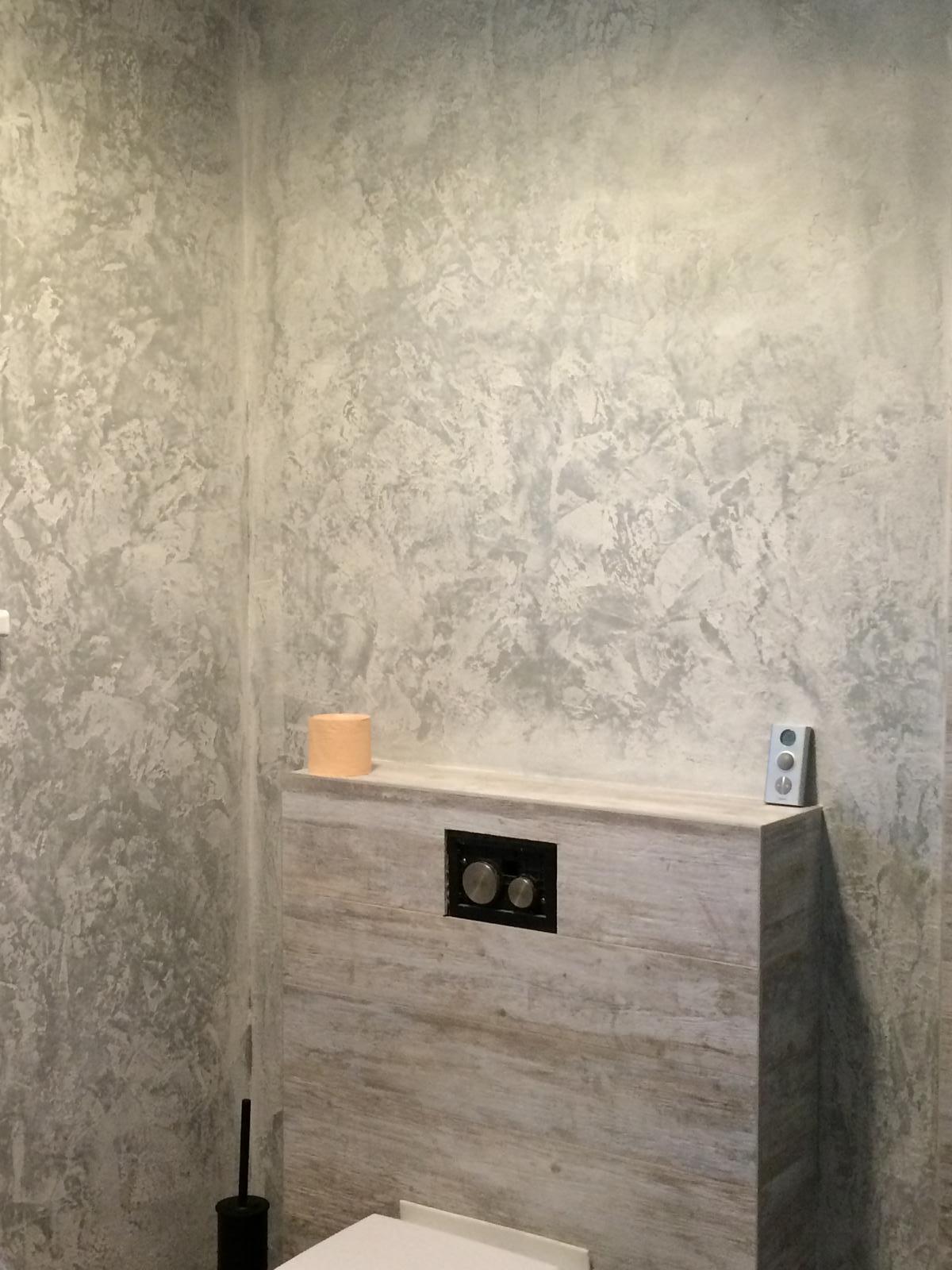 Splněný sen ... domeček - Finalni podoba betonove sterky v dolni koupelni - vcera dokonceno :) jupiii