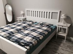 Tak, nova postel v loznici ;)
