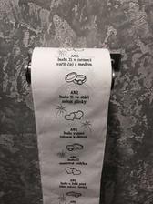 Kdyz uz si ten muj tak rad na wc cte, tak at ne to neco do zivota :) tohle by mohlo mit nejakej ucinek :)