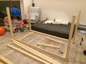 Vyroba domeckove postele zapocata ;)
