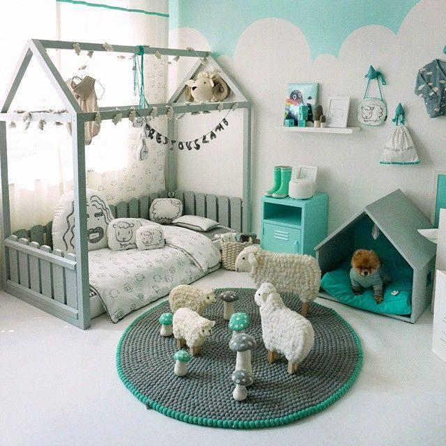 Splněný sen ... domeček - Inspirace postele ....