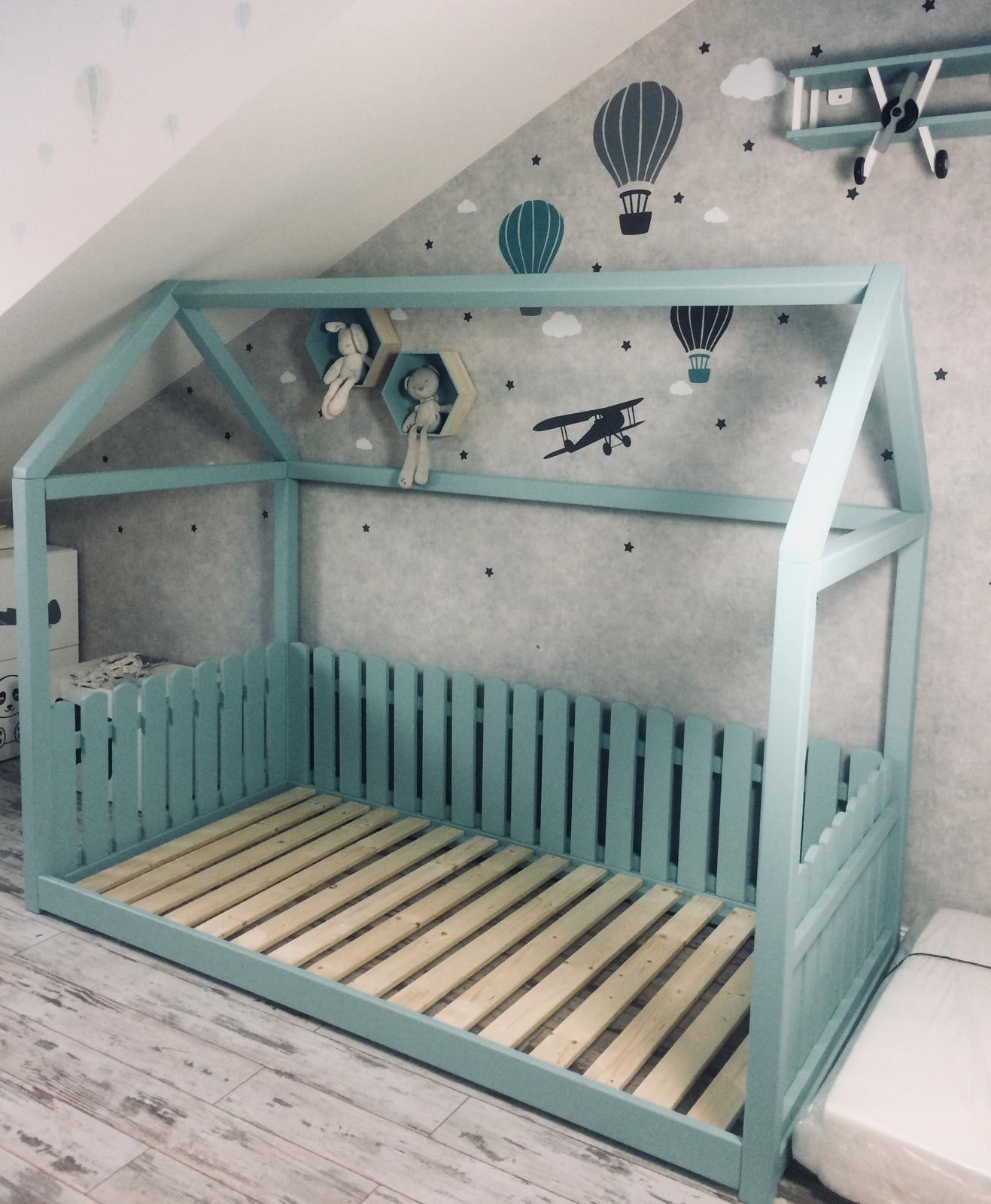 Splněný sen ... domeček - Realita, uz jen vyrobit zabranu a je hotovo :) myslim ze se celkem povedla ;)