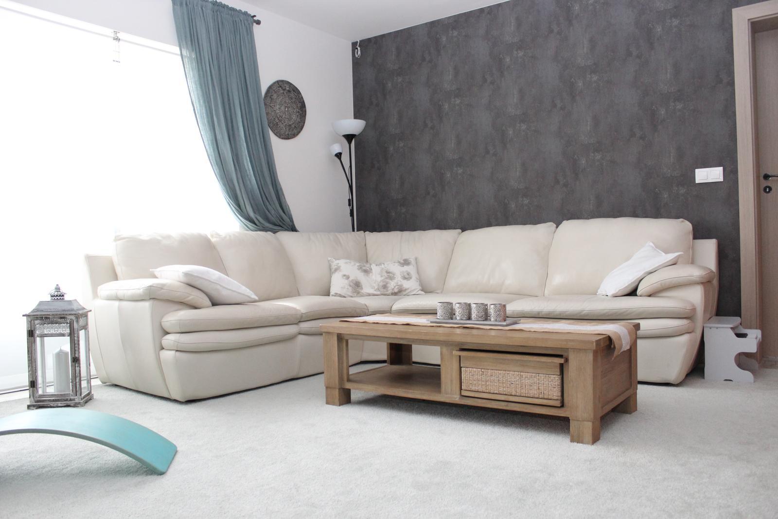 Finální podoba našeho bydlení ... i když člověk nikdy neví ;) - koberec je v lete pryc ;)